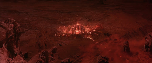 Human colony on Mars - image from Ghosts of Mars movie