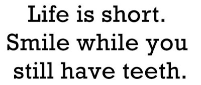 Life is shoprt...