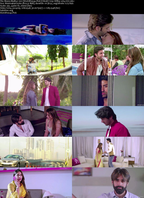 Meera Mathur 2021 Hindi HDRip 720p