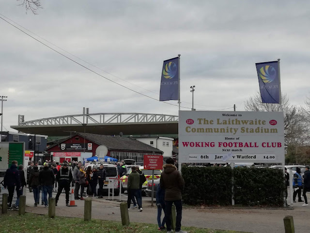 Woking v Watford in the FA Cup 2019