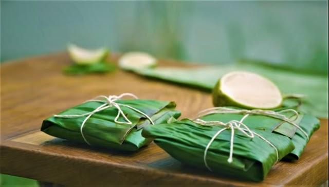 Bengali Bhetki Paturi Recipe | Bhetki fish in banana leaf parcel
