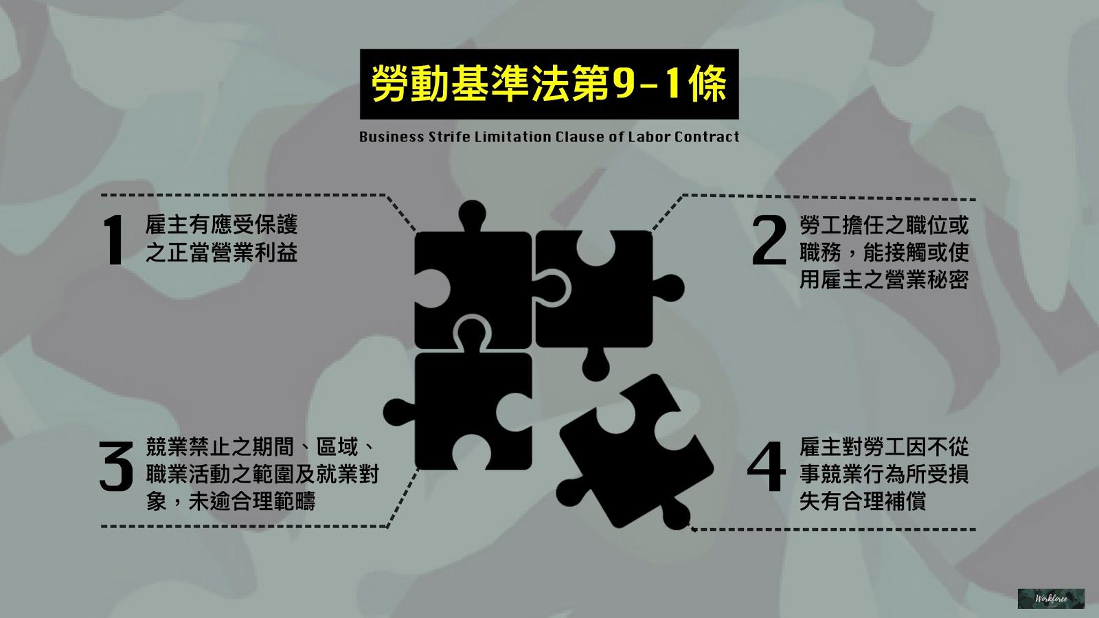勞動基準法第9之1條