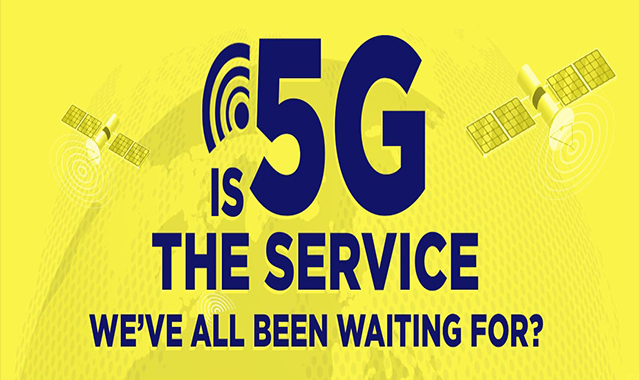 Is 5 G the We All Waited Service? #infographic