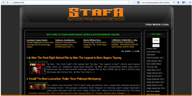 Primer Blog : Biaya Bebas STAFA Band
