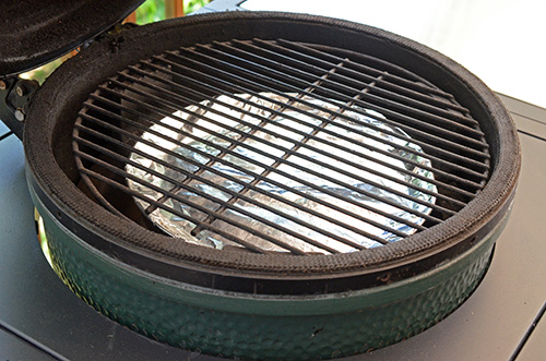 Setting up the BGE for indirect heat with the ConvEGGtor