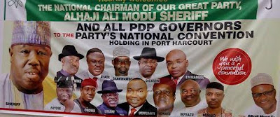 Emergency in PDP as two groups hold party convention in Abuja and Portharcourt 3