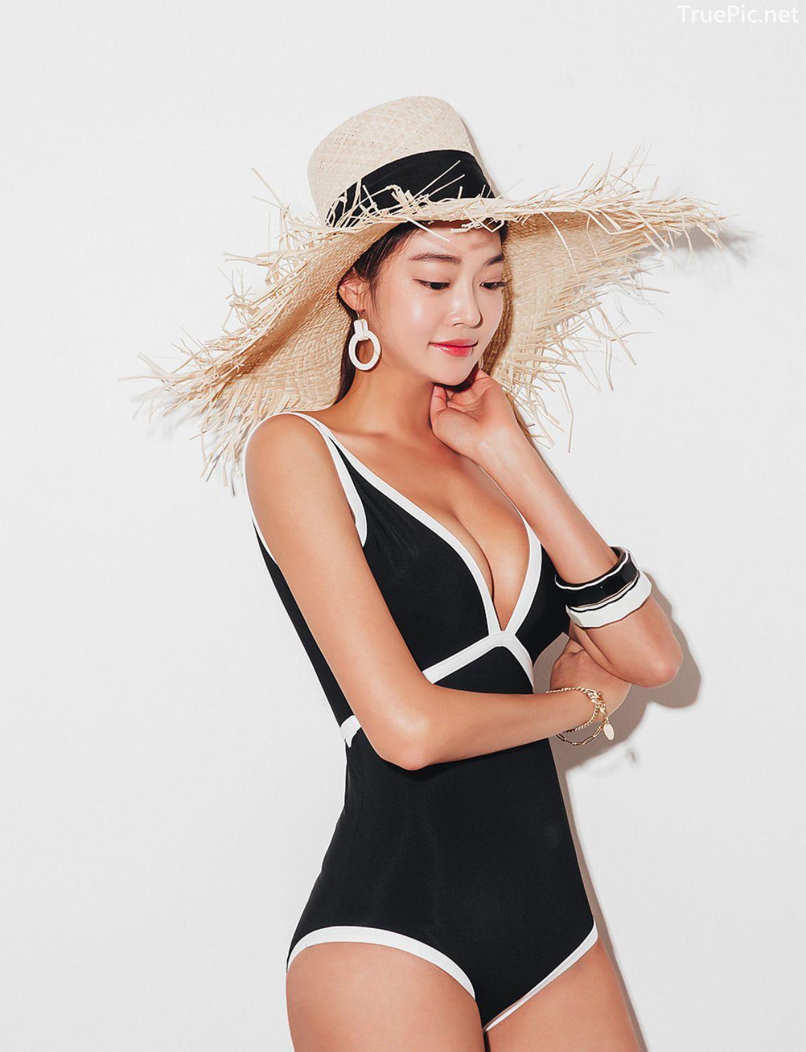 Korean fashion model - Park Jeong Yoon - Lemere Monokini - Picture 3