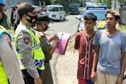 Razia Masker di Mrebet, Pelanggar Dihukum Mengucapkan Pancasila