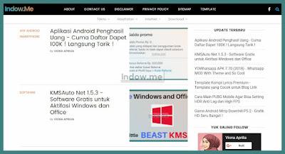 download template blog gampang template premium gratis