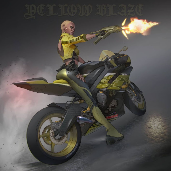 Yellow Blaze by ArtOfMaki