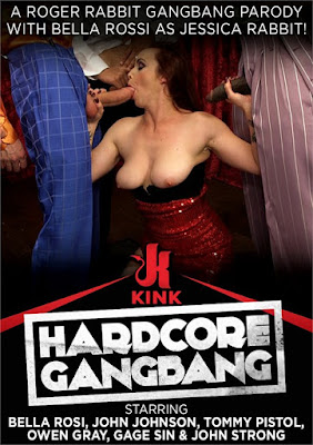 A Roger Rabbit Gangbang Parody With Bella Rossi As Jessica Rabbit!