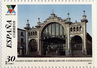 MERCADO DE LANUZA, ZARAGOZA