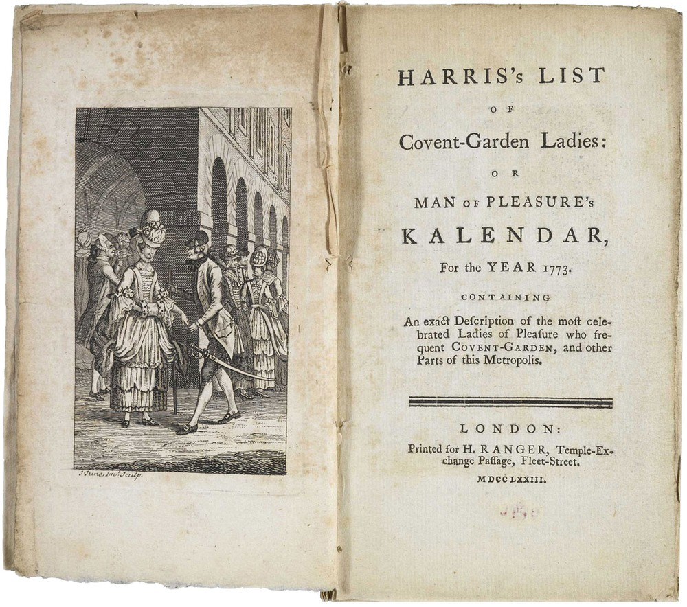 Harris's List of Covent Garden ladies