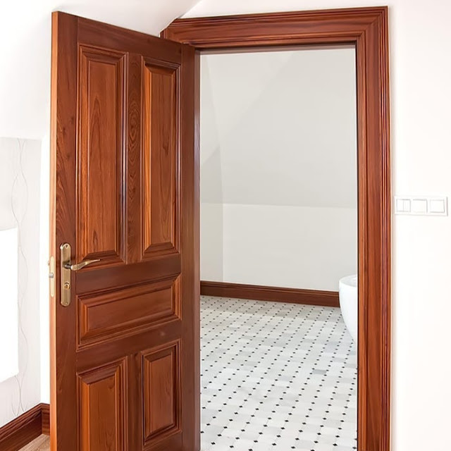 Model Pintu Kamar Mandi Minimalis Kayu