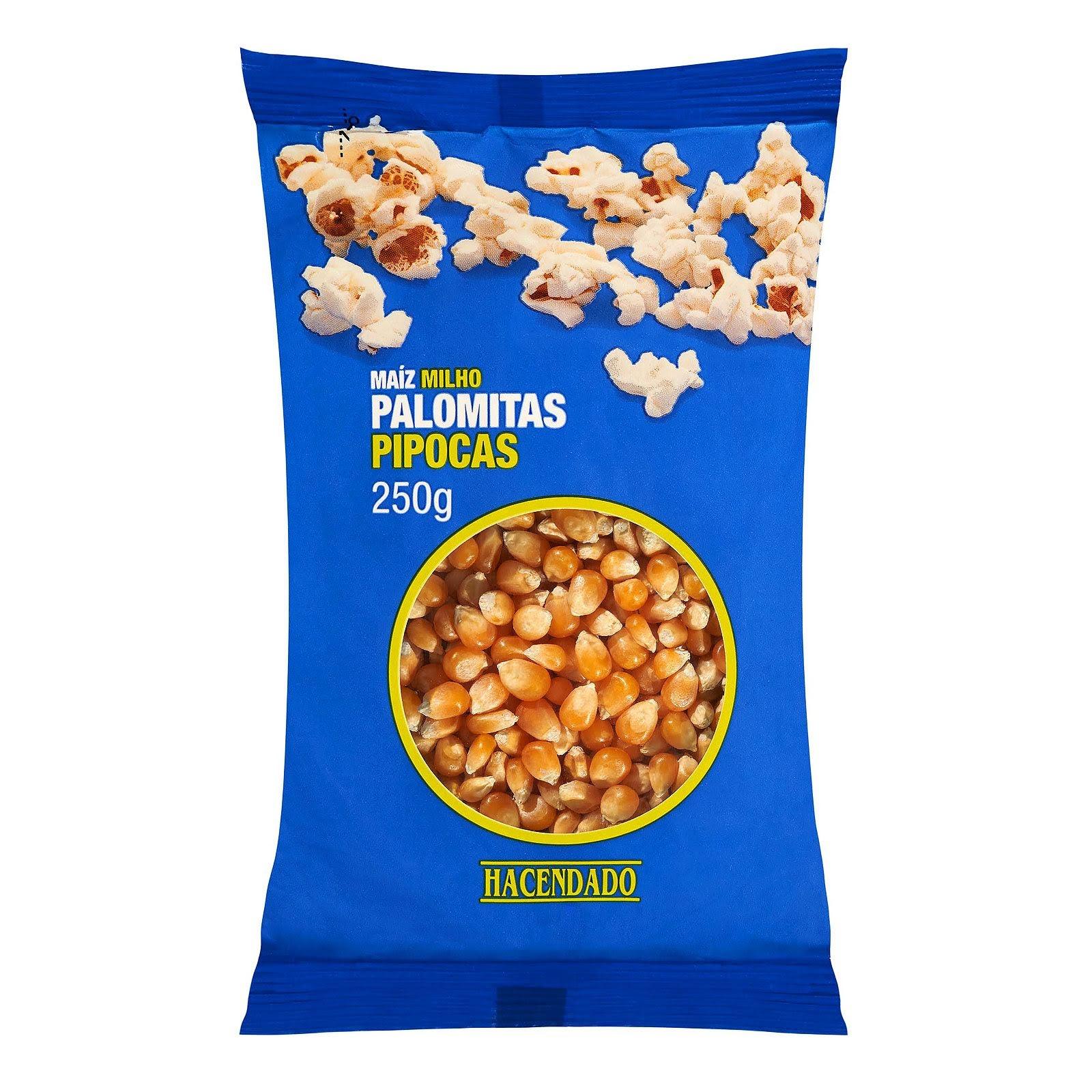 Palomitas de maíz en grano natural Hacendado