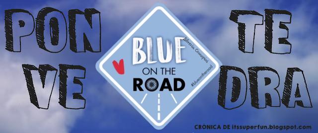 #BlueOnTheRoad en Pontevedra