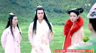 Jiang Jin FU in ep 1 of Legend of Qing Qiu Fox 2016 popular cdrama