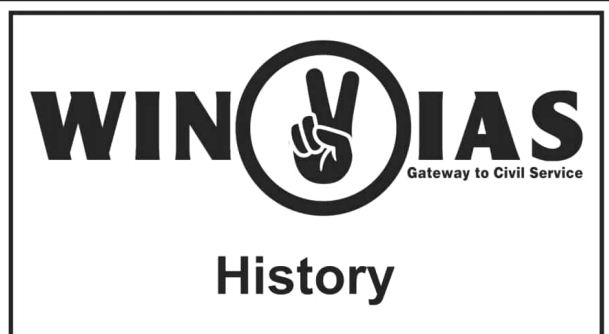 Win IAS Coaching Classes History Notes