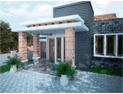 gambar rumah impian sederhana di desa