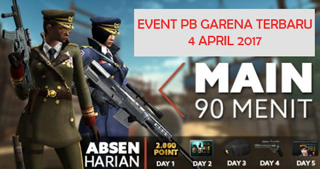 Event PB Garena Indonesia 4 April 2017