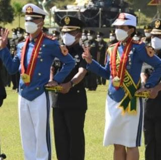 Membanggakan, Dua Alumni SMAN 2 Balige Raih Adhi Makayasa Akmil 2021