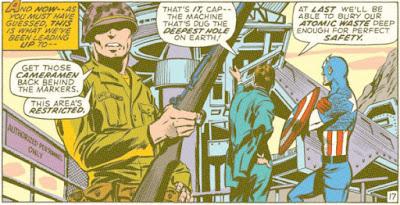 Captain America #135, drill