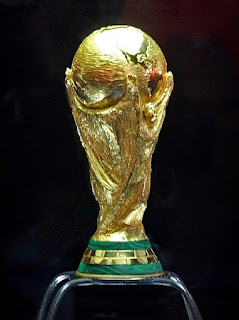 The 18-carat gold FIFA World Cup, created by Silvio Gazzaniga