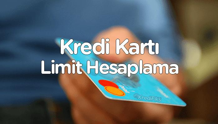 Maaşa Göre Kredi Kartı Limit Hesaplama