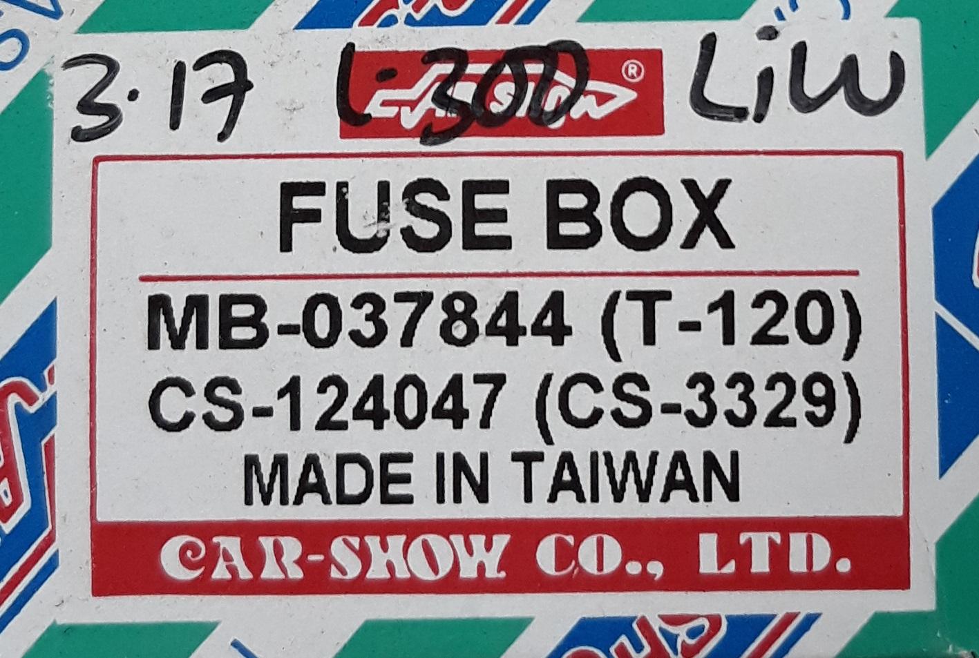 Box Sekring L300 Colt T120 Lama Safari Motor Barabai Fuse