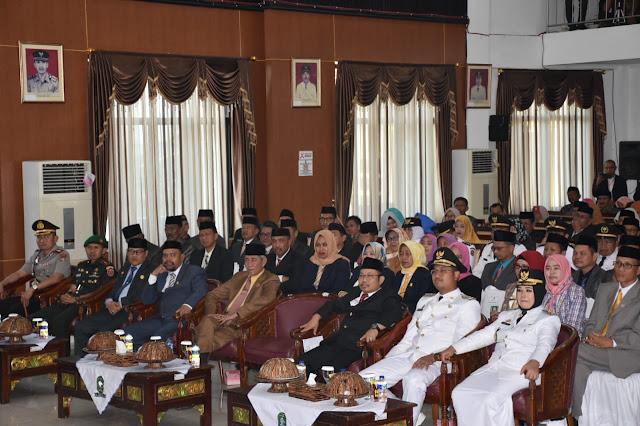 Ketua Bersama Anggota DPRD Hadiri Setijab Bupati dan Wakil Bupati Sinjai