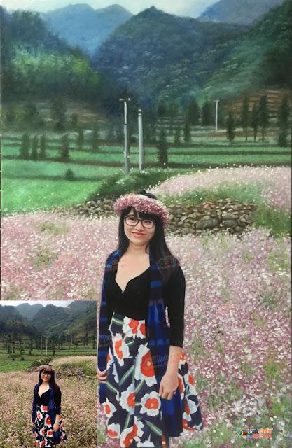 vẽ chân dung sơn dầu tặng bạn gái