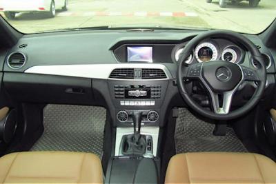 Interior Mercy W204 Facelift