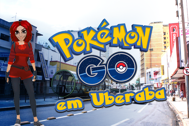 Cinco Pokestops no centro de Uberaba