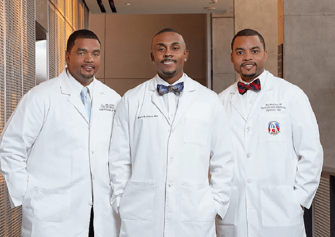 Meet the three inspirational black doctors who have changed the definition of success