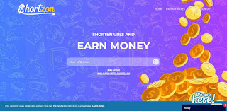 earn from Url Shortener