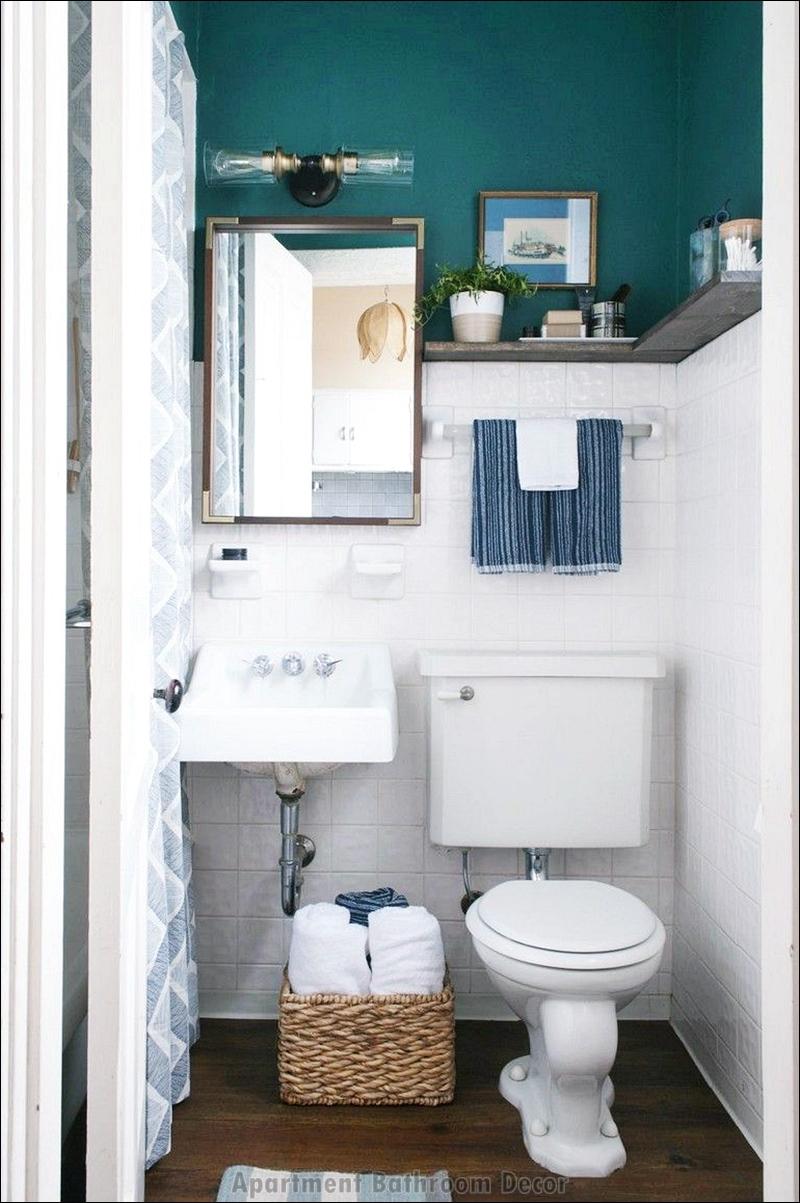 Small Apartment Bathroom Decor