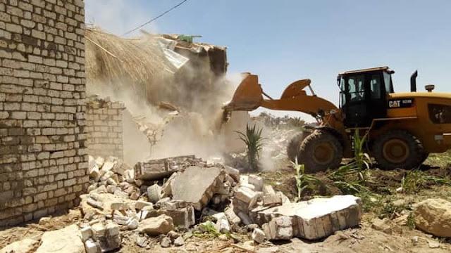 محافظ الفيوم: إزالة 247 حالة تعدٍ على أراضي أملاك الدولة ضمن الموجة الـ16 للإزالات