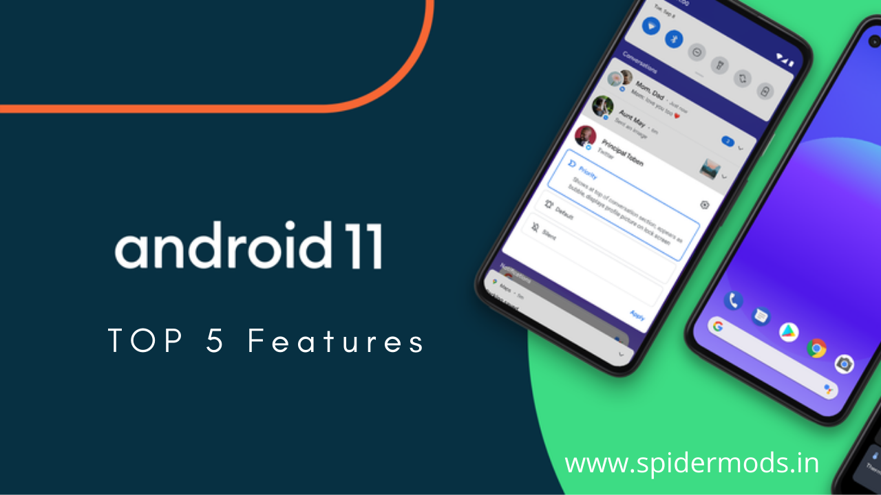 Top 5 Best Features of Android 11   Spider Mods