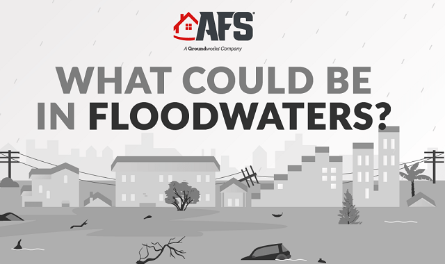 What are the possible contaminants of the floodwater?
