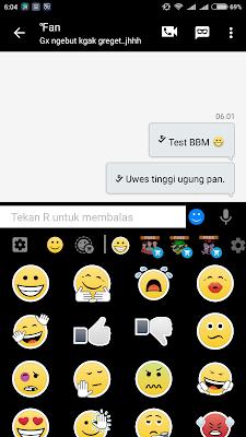 BBM MOD Xiaomi V8