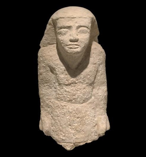 Egyptian officials recover ancient limestone bust that was smuggled to Holland