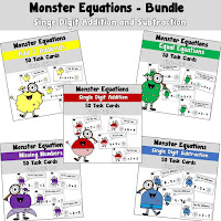 Monster Equations using Single Digits