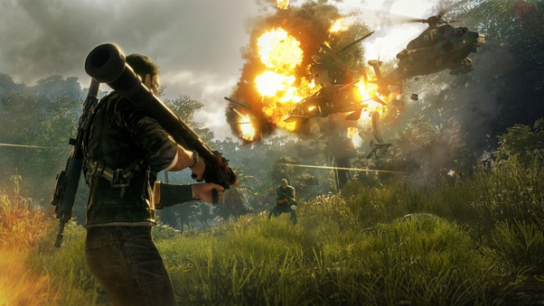 Just Cause 4 Most Graphic demanding PC Games 2020