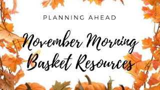 November Books, Morning Basket, Thanksgiving