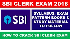 SBI 8301 Clerk Syllabus & Exam Pattern 2018 - Download in pdf