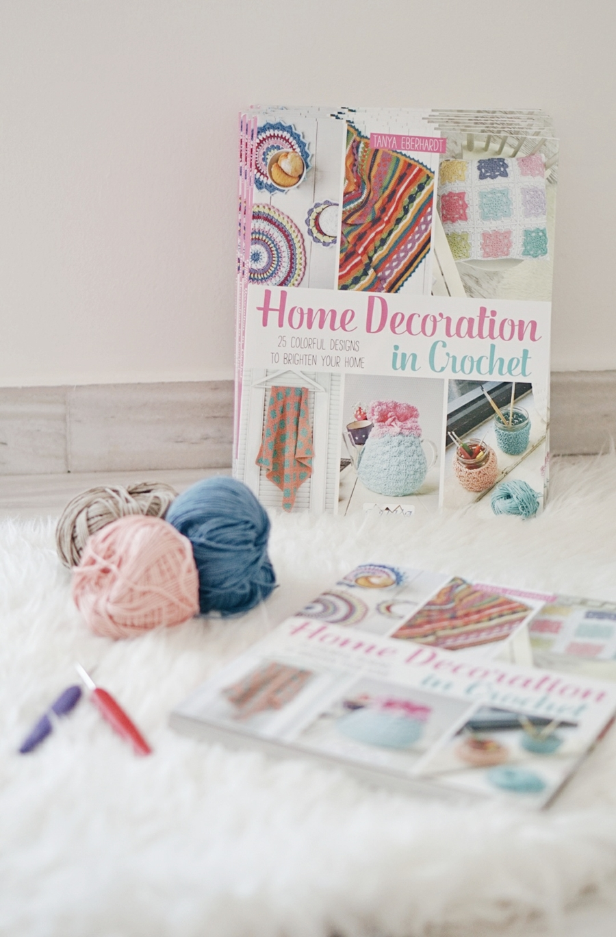 HOME DECORATION IN CROCHET BOOK TOUR & GIVEAWAY