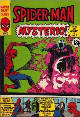 Spider-Man pocket book #11, Mysterio