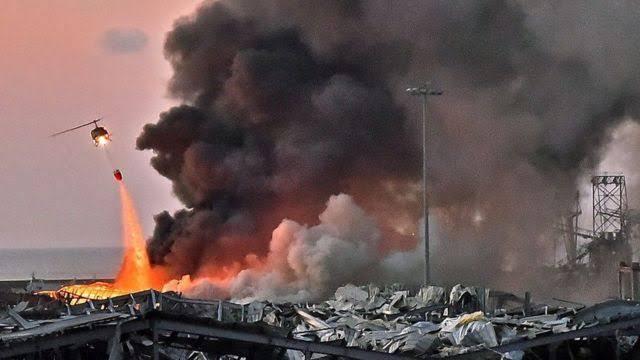 Simpati Pesepakbola untuk Korban Ledakan di Lebanon