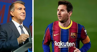 I'm sure Messi will leave if I don't win: Barcelona Presidential candidate Laporta