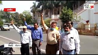 अर्णब गोस्वामी की रिहाई के लिए कलेक्टर और शिक्षा मंत्री मोहन यादव को सोपा ज्ञापन